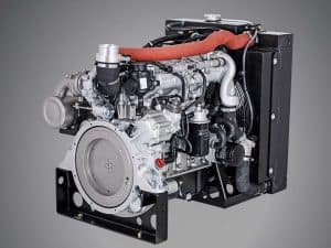 Turbocharged 2-liter diesel engine