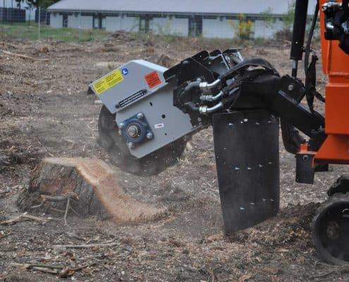 Stump Grinder Details Drive
