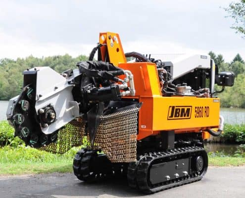 Stump Grinder Details Safety