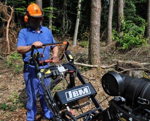 Stump Grinder Details Safety