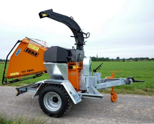PTO Wood Chipper Details Chassis