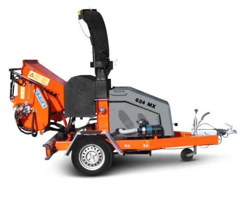 Motorhäcksler JBM 624 MX