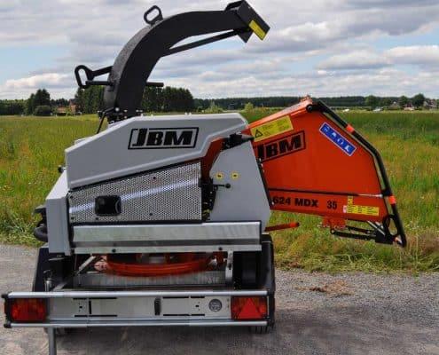 Holzhäcksler JBM 624 MDX