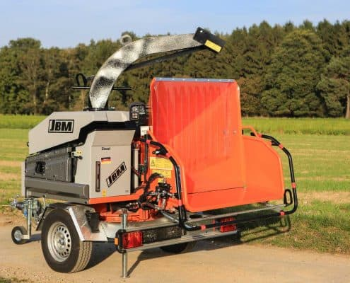 Wood Chipper JBM 630 MDX