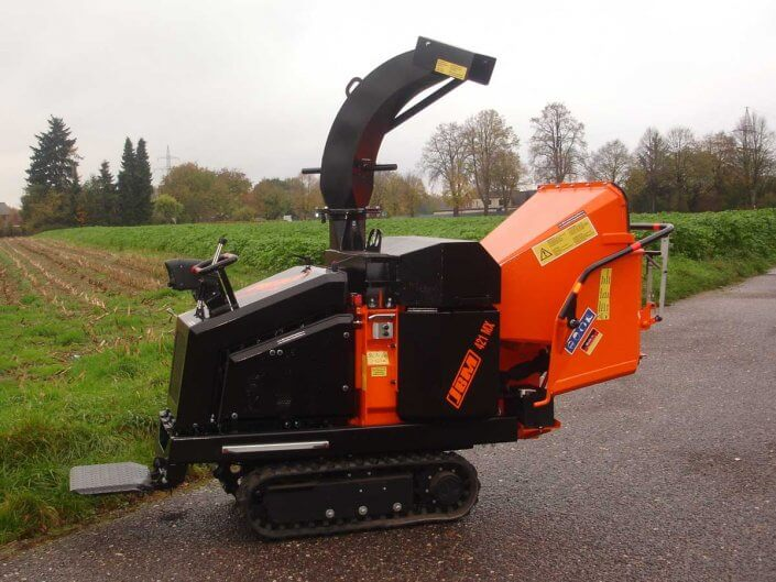 Tracked Chipper JBM 421 MRX