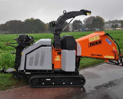 Tracked Chipper JBM 624 MRX