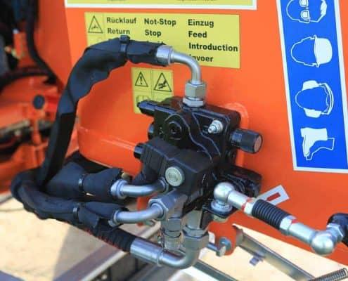 Steuerung und Hydraulik