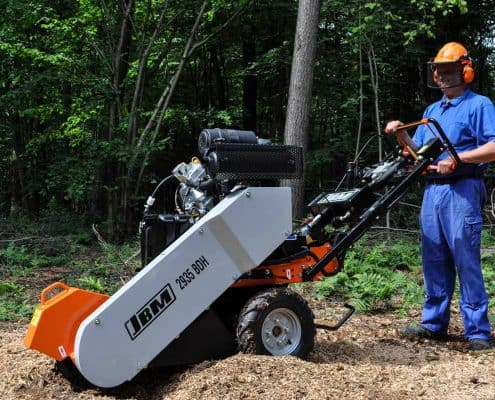 Stump Grinder Details Operation
