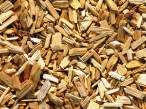 Perfect wood chips