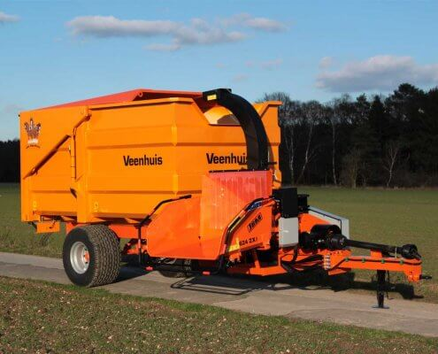 Chipper Dump Trailer Combo JBM 624 ZX