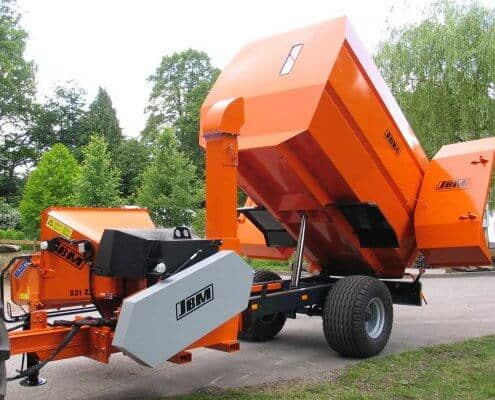 Chipper Dump Trailer Combo JBM 831 ZX
