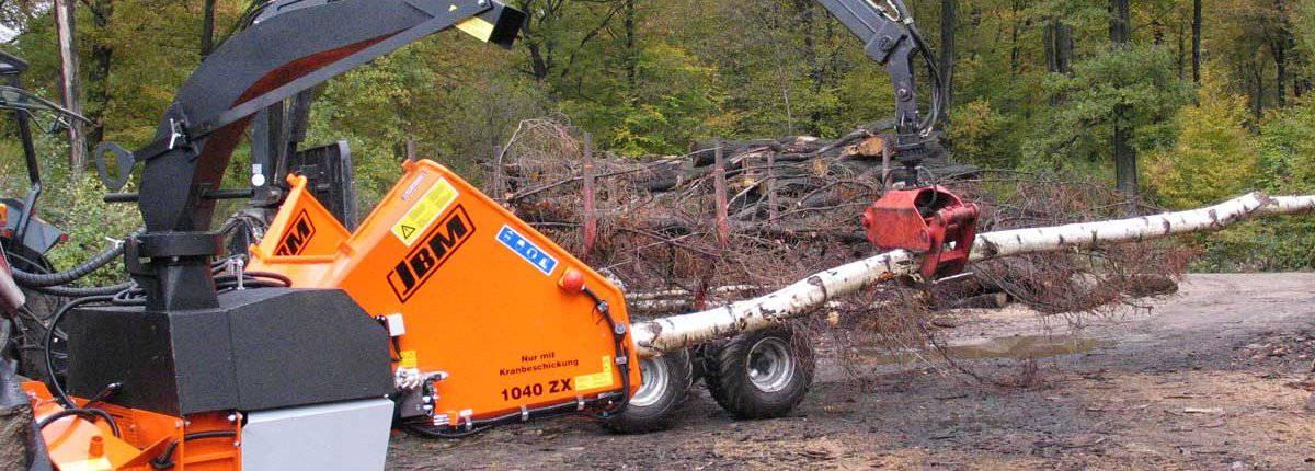 PTO Wood Chipper JBM 1040 ZX