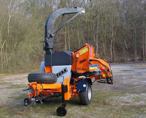 PTO Wood Chipper JBM 831 ZDAX