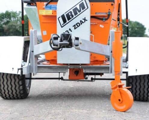 PTO Wood Chipper JBM 831 ZDAX Detail