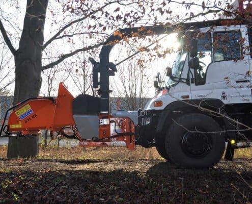 Holzhäcksler Zapfwelle Unimog JBM 831 ZUX