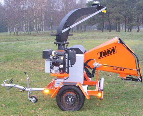 Motorhäcksler JBM 420 MX