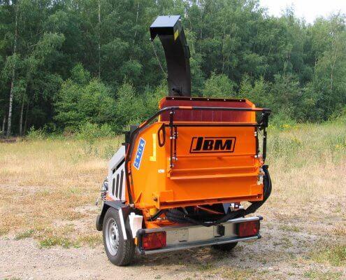 Motorhäcksler JBM 421 MX