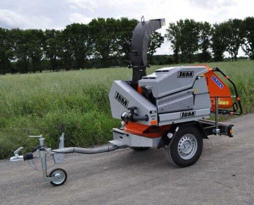 Motorhäcksler JBM 521 MDX