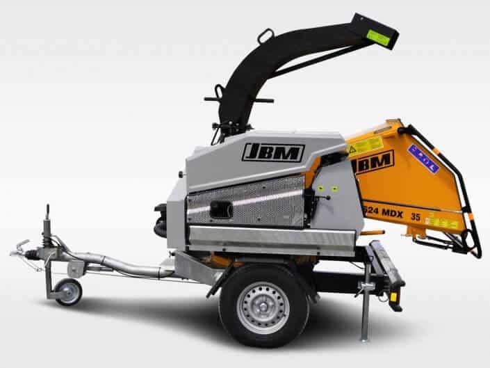 Motorhäcksler JBM 624 MDX