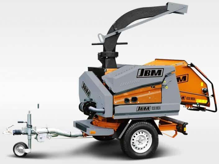 Motorhäcksler JBM 630 MDX